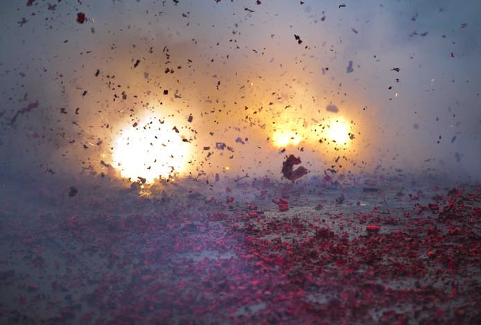 In november en de eerste week van december zijn in totaal 35 meldingen binnengekomen over het afsteken van vuurwerk.