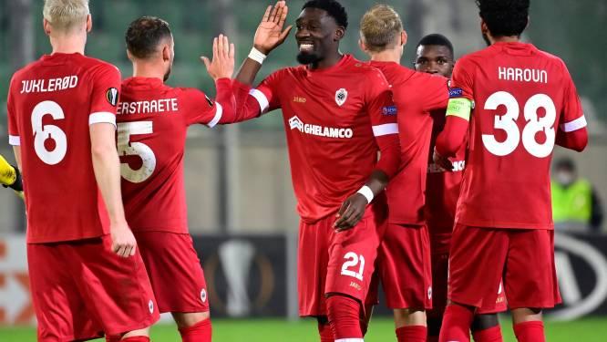 Antwerp-spelers Batubinsika en Benson testen positief, Seck keert terug