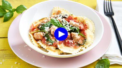 Ken je mezzelune al? De perfecte pasta voor een snelle portie comfortfood