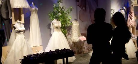 Hoofdentree Breepark klaar voor trouwbeurs