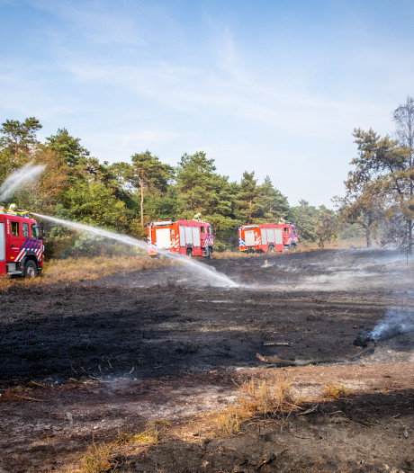 Brandweer kampt met topdrukte
