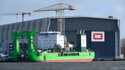Concurrenten spannen samen om schepenbouwer IHC overeind te houden