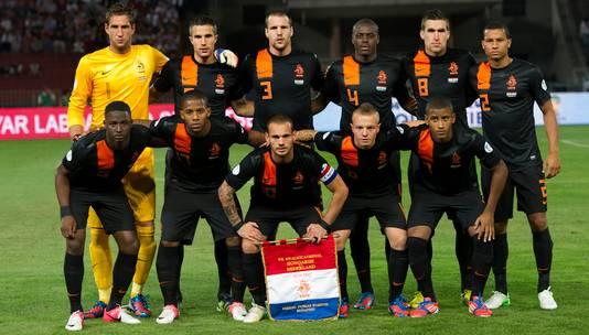 De lichting van het EK 2012 bestond onder anderen uit Kevin Strootman, Jetro Willems en Luciano Narsingh.