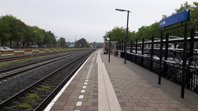 Het station van Cuijk.