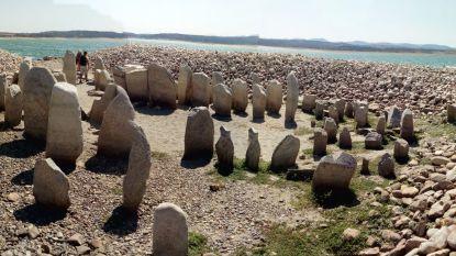'Spaanse Stonehenge' voor het eerst in 50 jaar weer zichtbaar door extreme droogte
