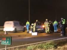 Ruim uur vertraging op A50 bij Beekbergen na ongeval