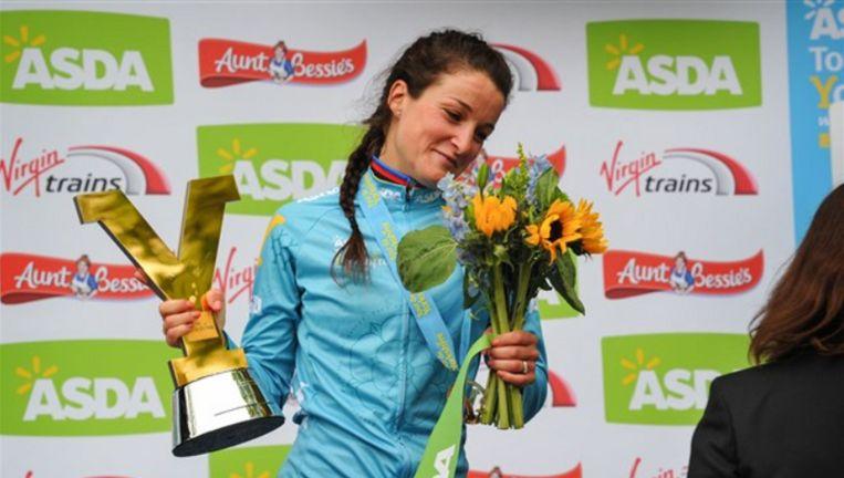 Deignan verdiende 17.500 euro met haar thuiszege.