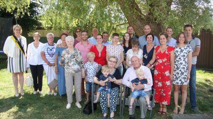 Michel en Yvette 60 jaar getrouwd