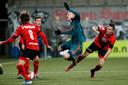 Vrijdagavond speelde Helmond Sport in eigen stadion tegen Jong Ajax en verloor met 0-2.
