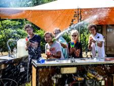 Verscholen in Deventer bossen: OE OE Festival trekt aandacht van kind én technofan