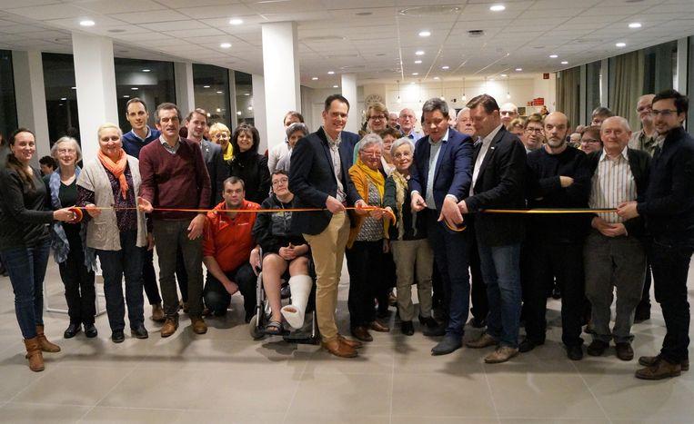 De opening van de nieuwe vestiging van dienstencentrum Geselle in rusthuis Maria Ter Ruste