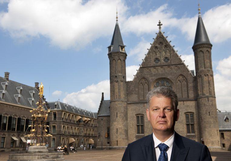 Hero Brinkman op het Binnenhof Beeld anp