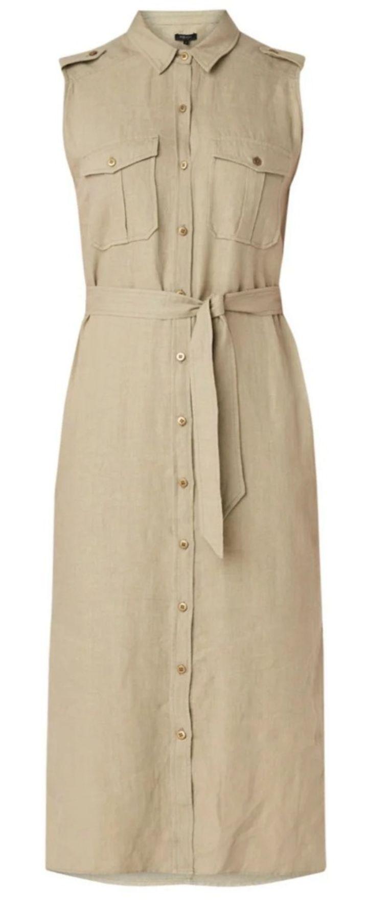Safari-jurk van Claudia Sträter, € 150 via De Bijenkorf Beeld null