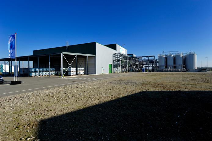 De fabriek op het industrieterrein