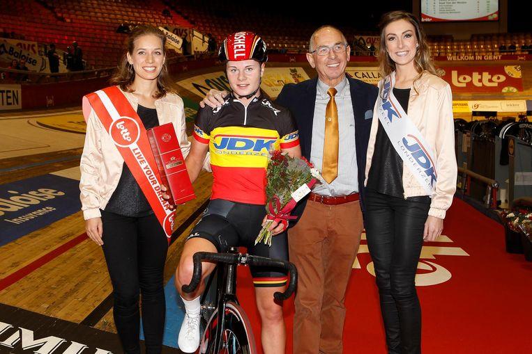 Lotte Kopecky won vorig jaar het vrouwenomnium op de Zesdaagse van Gent.