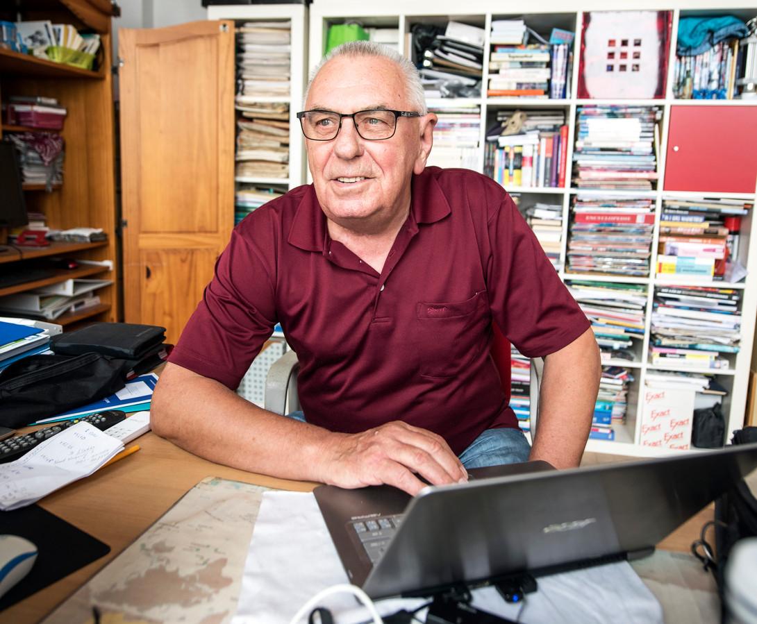 Herman Heuvink verslaat al bijna 35 jaar motorraces: ,,Voor de poen hoef je het niet te doen. Het is mijn lust en mijn leven geworden.''