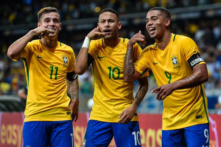 Vieren Coutinho, Neymar en Jesus ook in de WK-finale op 15 juli?