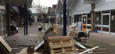 Winkelcentrum in Berkel-Enschot valt deze maand al ten prooi aan slopershamer