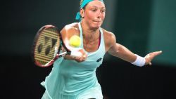 Yanina Wickmayer stoot door naar kwartfinales in Mumbai