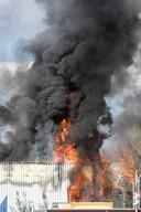 De brand is inmiddels onder controle.