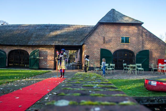 Sinterklaas logeert net als vorig jaar in museum 't Oude Slot in Veldhoven.