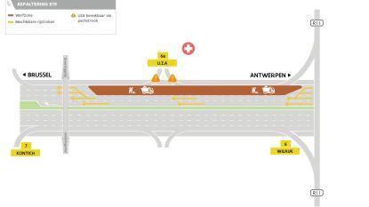 Heraanleg E19 start vier maanden vroeger dan gepland: zone tussen Wilrijk en Kontich komt eerst aan de beurt