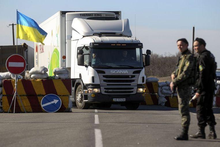 Oekraïense soldaten Beeld reuters