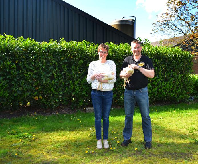 Nieuwe stal voor pluimveebedrijf Frank Habraken Riethoven