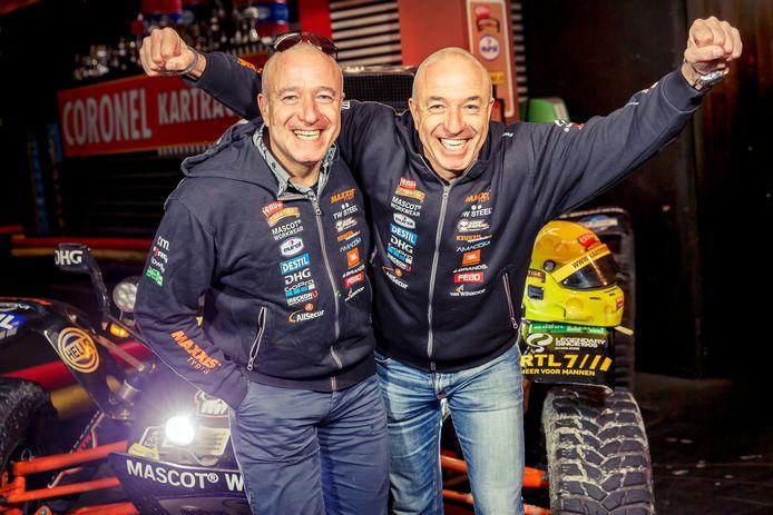 Tim (links) en Tom Coronel maken zich opnieuw op voor de Dakar Rally.