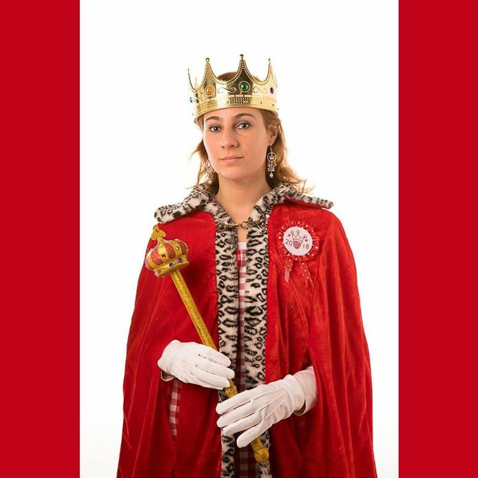 Karina Groenland-Van der Breggen, lid van KKV Met De Pink Omhoog