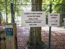 Landgoed Pijnenburg bindt strijd aan met illegale én agressieve fietsers: boete voor betreden terrein