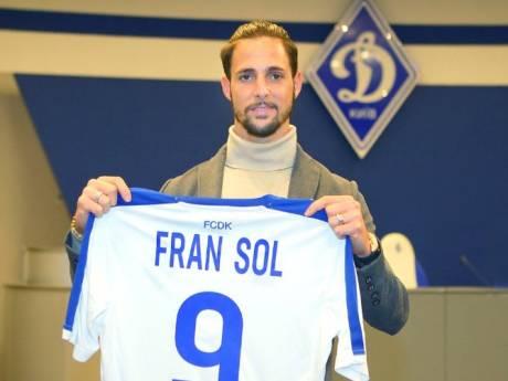 Fran Sol doorstaat keuring en tekent contract in Kiev: 'Club met een geweldige geschiedenis'