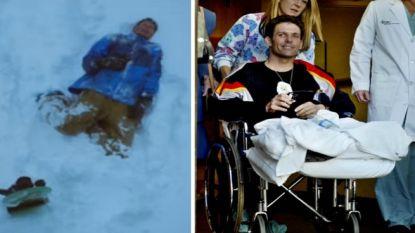 Ook ijshockeyer raakte net als Steven de Jongh vermist: na acht dagen overleven in de bergen verloor LeMarque zijn beide voeten