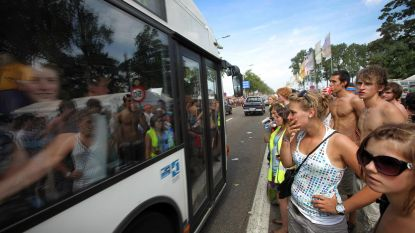 Tijdens Pukkelpop gratis nachtbussen naar 30 haltes in Sint-Truiden