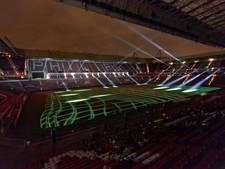 Grote lichtshow in Philips Stadion tijdens twaalfde editie GLOW