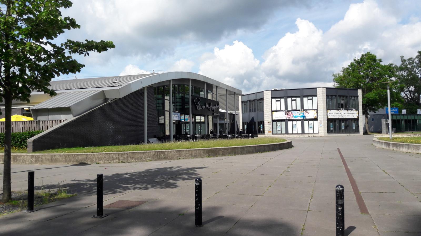 Zwembad de Tongelreep in de Genneper Parken in Eindhoven.
