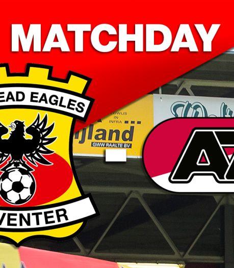 LIVE | GA Eagles met verwachte basisploeg begonnen aan duel tegen laagvlieger Jong AZ
