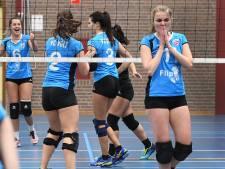 Volleybalsters Volt laten gouden kans op koppositie liggen
