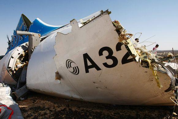 De nieuwe gegevens wijzen erop dat het toestel in volle vlucht brak.