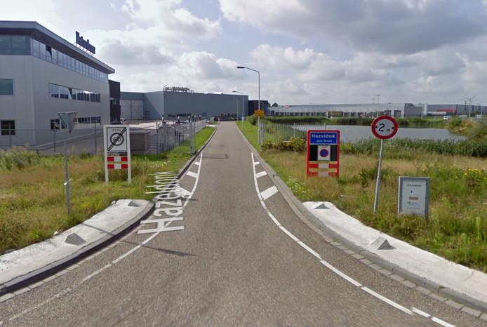 De sluiproute van Hazeldonk naar de Hazeldonksestraat gaat dicht voor vrachtverkeer.
