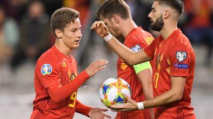 """Martínez: """"Dat Carrasco de bal bij die penalty aan een 18-jarige geeft, doet me nog het meeste plezier"""""""