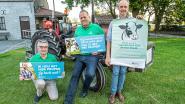 ABS haalt oude tractoren van stal en trekt op zwerfvuiltocht