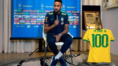 "Neymar viert 100ste interland met draw tegen Senegal (en Krépin Diatta): ""Nu wereldkampioen worden"""