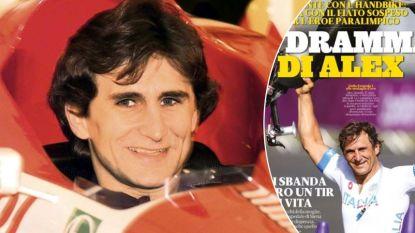 Derde keer oog in oog met de dood: het leven van de Italiaanse ex-F1-coureur en volksheld Zanardi is voer voor Hollywood