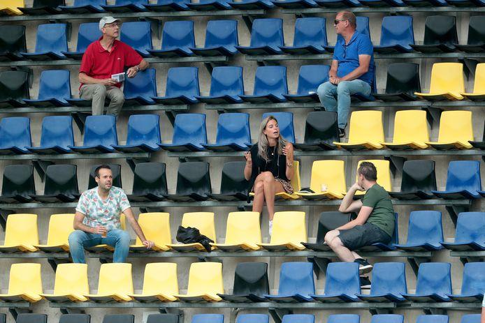 Er is publiek welkom bij NAC Onder 21 - Willem II Onder 21 in het Rat Verlegh Stadion in Breda.