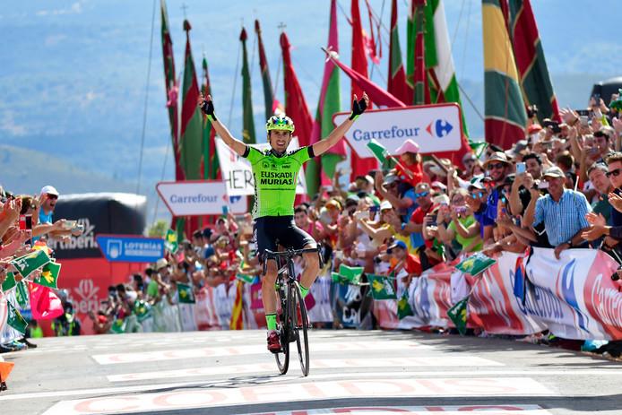 Óscar Rodríguez wint in Valle de Sabero.