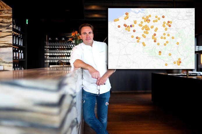 Chef Viki Geunes van het Antwerpse restaurant Zilte heeft drie sterren gekregen van de prestigieuze Michelingids.