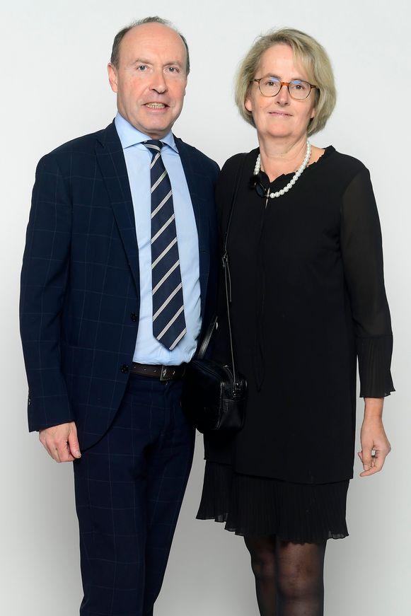 Tom Van Damme en partner Katrien Zwijsen