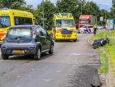 Vrouw op scooter aangereden door automobilist in Helmond
