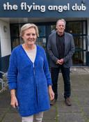 Marianne Kloosterboer en Henk Danielse van het zeemanshuis.